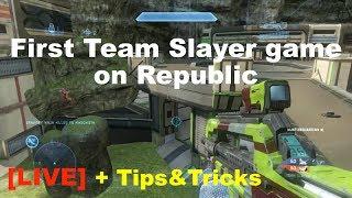 Republic Team Slayer - Halo 4 Genesis LIVE Gameplay + Tips & Tricks