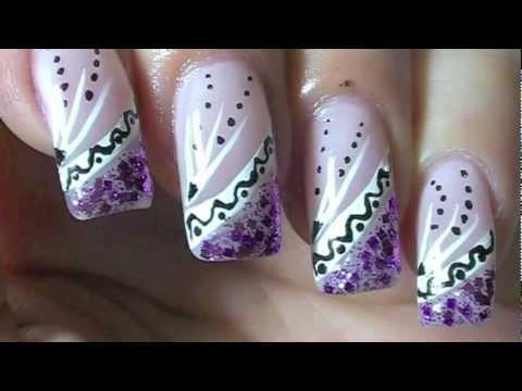 Nail Art Design -Tutorial -ZGx8oeifQBs