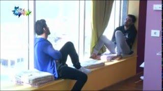 getlinkyoutube.com-حديث علي الفيصل مع عباس ودينا في غرفة البنات _ستار اكاديمي11