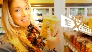 "Cornelia Ritzke: At the vegan supermarket ""Stop Making Excuses"" - deutsch / english subs"