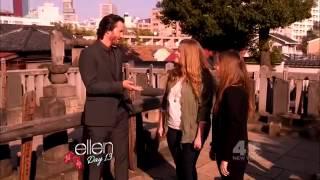 Fan Meets Keanu Reeves.