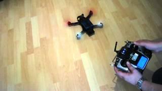 getlinkyoutube.com-Graupner Alpha 250Q Inhouse Quadrocopter Tests