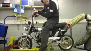 getlinkyoutube.com-Honda Dax 180 Super (21.3bhp)