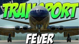 getlinkyoutube.com-TRAIN FEVER WITH PLANES! (Transport Fever Gameplay)