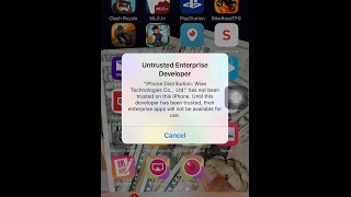 "getlinkyoutube.com-How to trust ""Untrusted Enterprise Developer"" Apps IOS 9 ""AirShou"" and IOS 7-8 ""Shou"