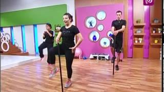 getlinkyoutube.com-الرياضة - تمارين لكامل الجسم مع التركيز على الجزء السفلي