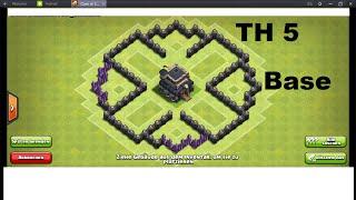 getlinkyoutube.com-BEST TOWNHALL 5 DEFENSE BASE (TH5) | Clash of Clans