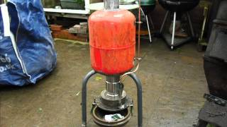 getlinkyoutube.com-How to make a waste oil Heater