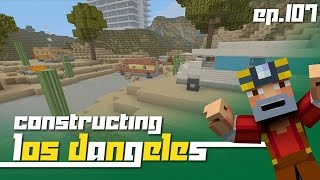getlinkyoutube.com-Minecraft Xbox 360: Constructing Los Dangeles - Episode 107! (Trailer Park!)