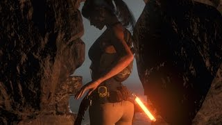 getlinkyoutube.com-Rise of the Tomb Raider Amazingly Sexy Lara Croft Animations