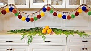 getlinkyoutube.com-Новогодние гирлянды  лучший вариант декора вашего дома
