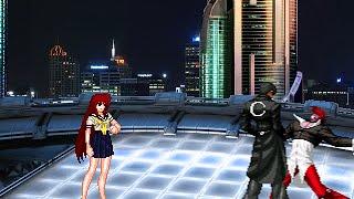 getlinkyoutube.com-[KOF WOJ] Boss Zeroko VS Iori CT Y Orochi Iori CT