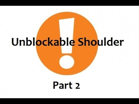 TTT2: Unblockable Shoulder - Offense (2 of 2)