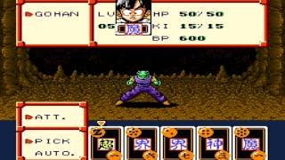 getlinkyoutube.com-Detonado Dragonball Z RPG - 4 - Gohan