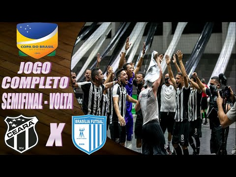 JOGO COMPLETO: Ceará 3 x 2 Brasília Futsal – 3º Fase – CBFS (5/12/2020)
