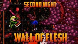 getlinkyoutube.com-Terraria - Wall of Flesh on Second Night [Speedrun Challenge]