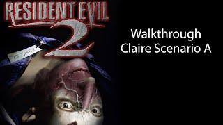 getlinkyoutube.com-Resident Evil 2 Claire Scenario A Gameplay Walkthrough HD - PSx/PS3, NO COMMENTARY