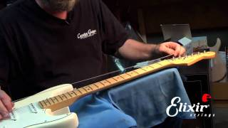 getlinkyoutube.com-How to restring your Stratocaster with John Carruthers