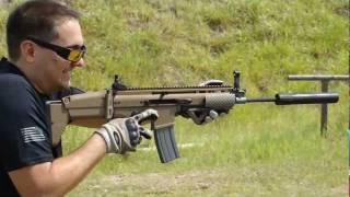 getlinkyoutube.com-FN SCAR Test w/ AAC SPR/M4