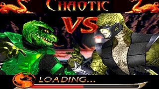 getlinkyoutube.com-Mortal Kombat Chaotic - Raptor playthrough