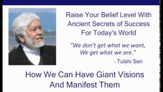 How We Can Have Giant Visions and Manifest Them