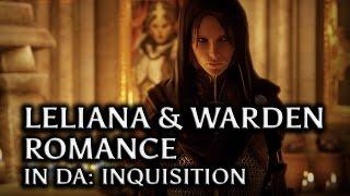 getlinkyoutube.com-Dragon Age: Inquisition - Leliana & the Warden Romance in DAI (Queen's mistress version, all scenes)