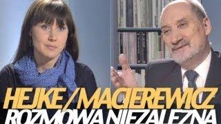 """getlinkyoutube.com-Macierewicz: """"Najbardziej narażona na zniszczenie była salonka z generalicją..."""""""