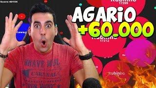 getlinkyoutube.com-LOCURA MAXIMA!! | AGAR.IO | +60000 PUNTOS | ULTRA SPEED | Agarabi | Rubinho vlc