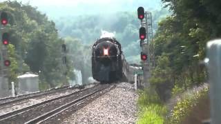 getlinkyoutube.com-Norfolk & Western J Class #611 4th of July Weekend 2015 Excursions