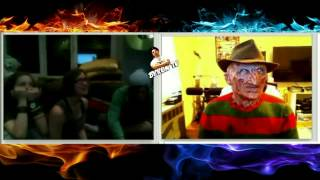 getlinkyoutube.com-Freddy Krueger - Freddy says take off your shirt on random webcam