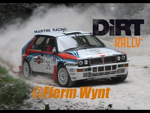 Dirt Rally   Lancia Delta HF Integrale @ Fferm Wynt