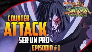 getlinkyoutube.com-Naruto Storm: Revolution - Como evitar el Counter Attack | Ser un Pro # 1