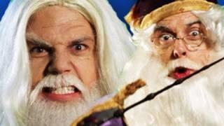 Gandalf vs Dumbledore.  Epic Rap Battles of History #11