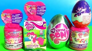 getlinkyoutube.com-My Little Pony FASHEMS TOYS Complete Collection Surprise Toys Eggs POPs Kinder Pinkie Pie MLP