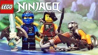 getlinkyoutube.com-레고 닌자고 제이,시렌 사이렌,원숭이 렛츠 70602 원소 드래곤 미니피규어 리뷰 Lego NINJAGO Jay,Cyren,plus Monkey Wretch minifigures