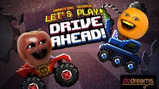 getlinkyoutube.com-Annoying Orange Plays - Drive Ahead vs Midget Apple