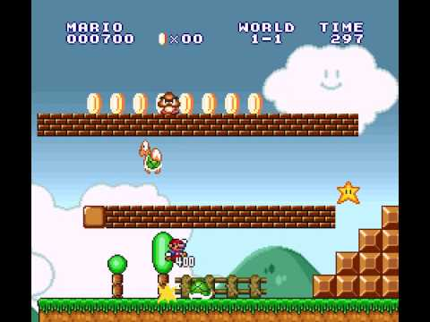 Super Mario All-Stars - Super Mario The Lost Levels World 1-1 (SNES) - Vizzed.com Play - User video