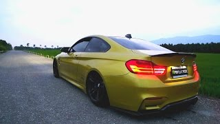 getlinkyoutube.com-BMW M4 Brutal Revs and Tunnel Sound w/Armytrix iPhone App Variable Exhaust