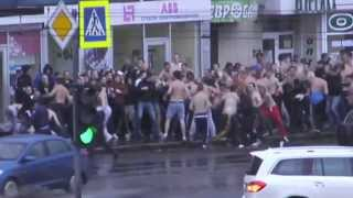 getlinkyoutube.com-Fight ultras Metallist - Dynamo Kyiv 15.0913