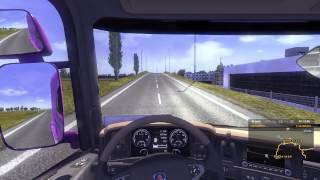 getlinkyoutube.com-ETS2: *Off-Road Driving* to Amsterdam Airport