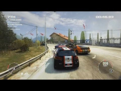 Grid 2 Golf Race !!!! HD 1080P Gameplay / PS3 Xbox 360 PC Game