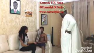 getlinkyoutube.com-The Make out. Ade and Crazeclown. Comedy LOL Naija, www.comedylol.ng