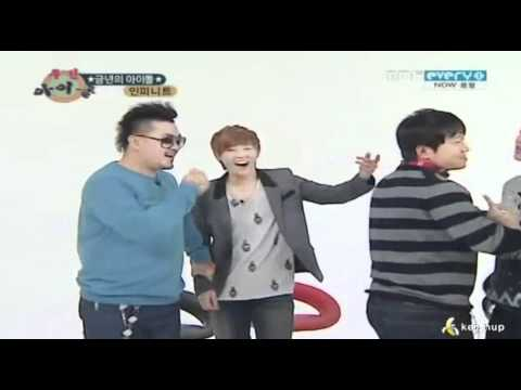 111224 - Angry Sunggyu wanna fight @ Weekly Idol