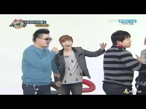 111224 - Angry Sunggyu wanna fight @ Weekly Idol