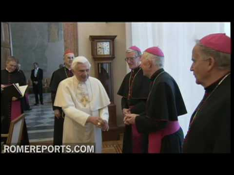 Irish Bishops meet with Pope Benedict XVI on child abuse scandal