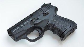 getlinkyoutube.com-Тест сигнального пистолета STALKER M906 после доработок.