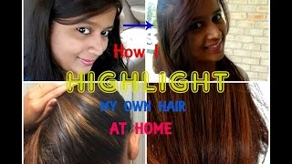 getlinkyoutube.com-How to highlight your own hair at home with Garnier Nutrisse | SensationalSupriya