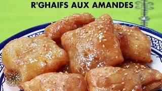 getlinkyoutube.com-Choumicha : R'ghaifs aux amandes