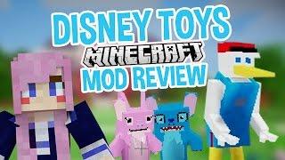 getlinkyoutube.com-Creepy Disney Toys! | Minecraft Mod