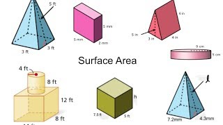getlinkyoutube.com-Surface Area of Three Dimensional Figures, Composite Solids, and Missing Dimensions